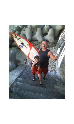 久々のサーフィン!