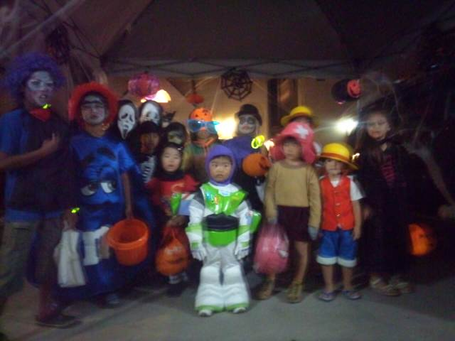 ハロウィンパーティ!!